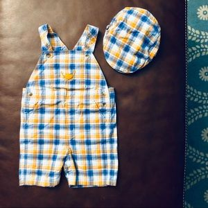 Janie and Jack Baby Boys Outfit and Hat